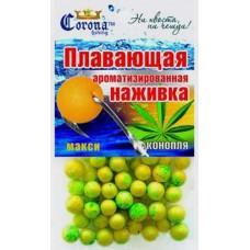 Плавающая ароматическая наживка CORONA конопля в Москве