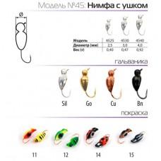 Мормышки вольфрамовые SPIDER нимфа с ушком в Москве