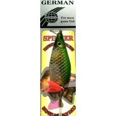 Блесна колеблющаяся крашенная GERMAN 5021-100 в Москве купить