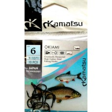 Крючки KAMATSU Okiami