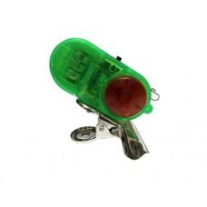 Сигнализатор поклевки электронный с клипсой зеленый в Москве