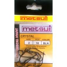 Крючки METSUI Crystal