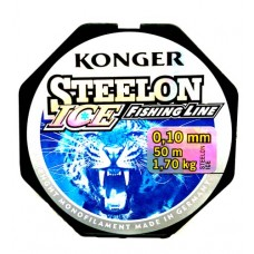 Леска KONGER Steelon ICE 50 м  в Москве