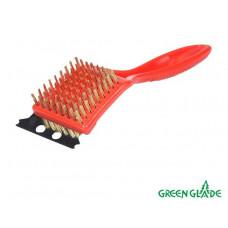 Щетка для чистки гриля + скребок Green Glade 9016 в Москве