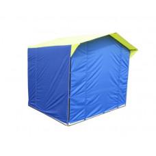 Стенка к торг.палатке Митек 2,5х1,9 (зеленый) в Москве