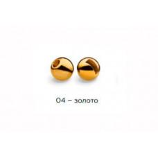 Вольфрамовая головка Namazu Pro TiA Tungsten Head Trout 2,4, 0,1г, золото (5 шт) NPT-TH24-04 в Москве купить