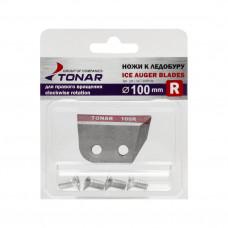 Ножи для ледобура Тонар ЛР-100R правое вращение NLT-100R.SL в Москве