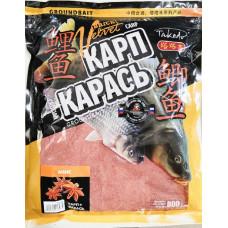 Прикормка Takedo Brick Velvet Карп-Карась 800 Анис BV0211