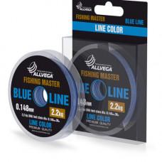 Леска Allvega Fishing Master 30м 0,205мм (3,5кг) голубая