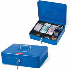 Ящик для денег Brauberg 90х240х300 мм, синий 290336 в Москве