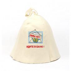 Шапка для сауны Идите в Баню БВ006 в Москве