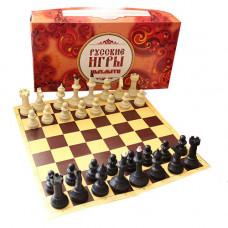 Шахматы Айвенго с доской из микрогофры ES-0294 в Москве
