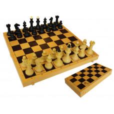 Шахматы обиходные с шахматной доской 03-035 в Москве
