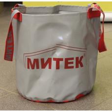 Ведро складное Митек без крышки диаметр 30см. Н-30см. (хаки) в Москве купить
