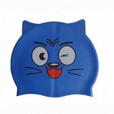 Шапочка для плавания детская с ушками Dobest CA-T10 в Москве