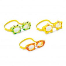 Очки для плавания детские 3-8 лет Intex 55603 дизайн в ассортименте в Москве