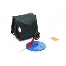 Набор жерлиц зимних 10 шт в сумке, подставка 195, катушка 75 мм, угловая пластиковая стойка в Москве